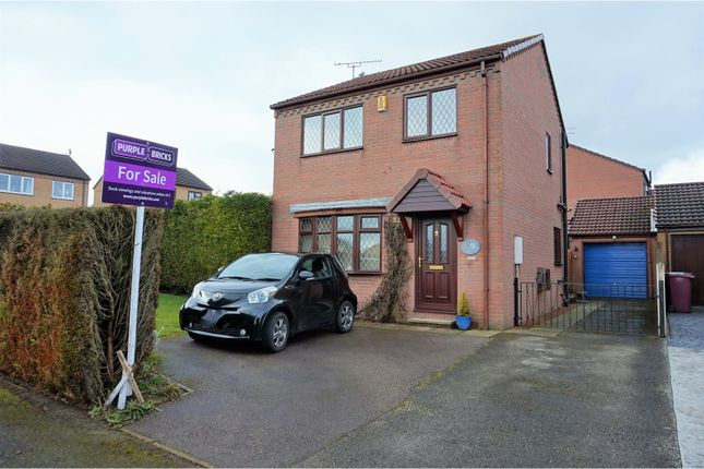 Thumbnail Detached house for sale in Elvaston Road, North Wingfield, Chesterfield