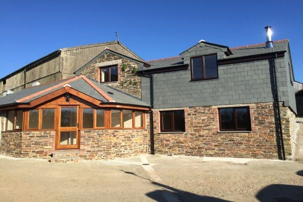 Thumbnail Barn conversion to rent in Liggars Farm, Liskeard