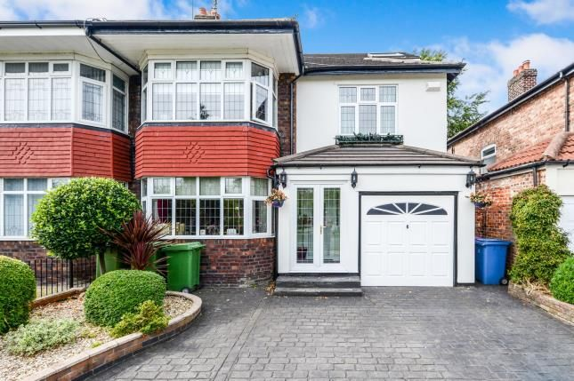 Thumbnail Semi-detached house for sale in Mather Avenue, Allerton, Liverpool, Merseyside