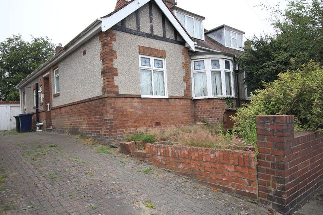 Thumbnail Bungalow for sale in Newminster Road, Fenham, Newcastle Upon Tyne