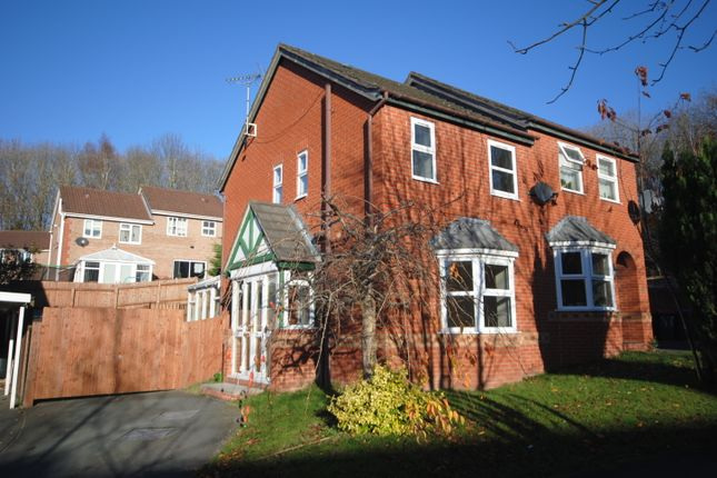 Thumbnail Semi-detached house to rent in Fieldfare Way, Aqueduct, Telford