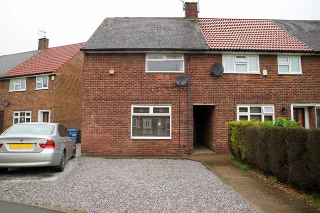 Thumbnail End terrace house for sale in Stratton Close, Longhill, Hull, East Riding Of Yorkshire