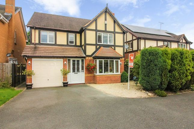 Thumbnail Detached house to rent in Bramley Close, Moira, Swadlincote
