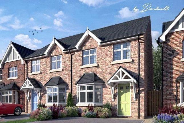 Thumbnail Semi-detached house for sale in Meadow, Shipley Park Gardens, Shipley, Derbyshire