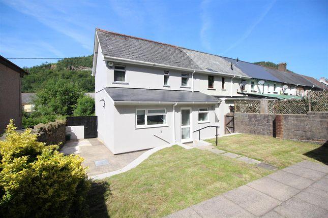 3 bed terraced house to rent in Halls Road Terrace, Cross Keys, Newport NP11