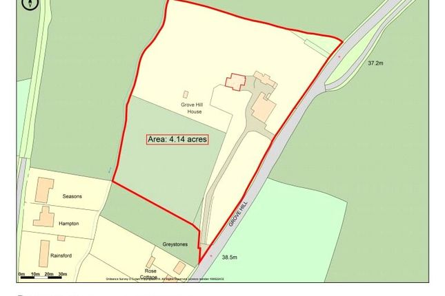 Boundary Plan of Grove Hill, Dedham, Colchester CO7