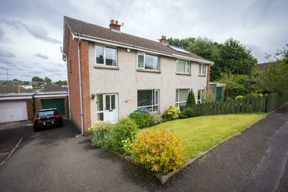 Thumbnail Semi-detached house for sale in Cloverdale Road, Lisburn