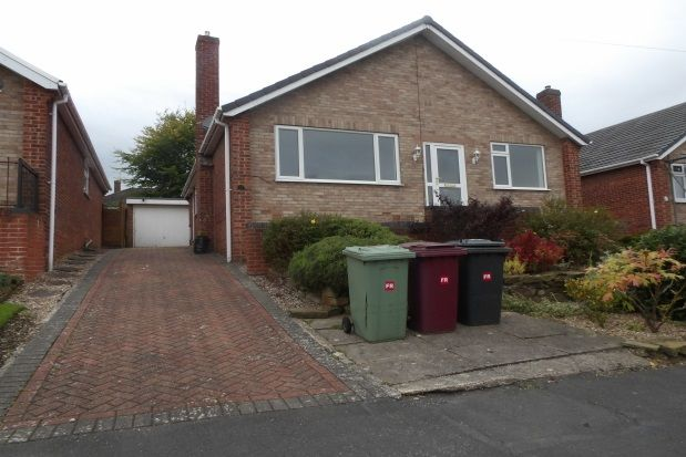 Thumbnail Detached bungalow to rent in Hilltop Road, Wingerworth, Chesterfield.