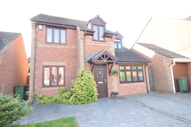 Thumbnail Detached house for sale in Stainmore Avenue, Narborough, Leicester