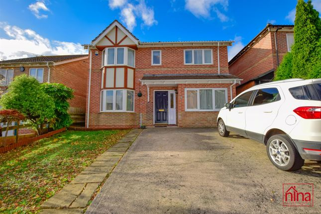 Thumbnail Detached house for sale in Melyn Y Gors, Barry
