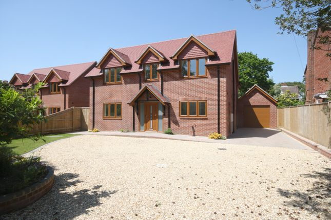 Thumbnail Detached house for sale in Shorefield Crescent, Milford On Sea