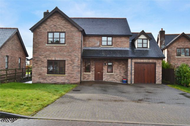 Thumbnail Detached house for sale in Parc Derw, Bryndu Road, Llanidloes, Powys