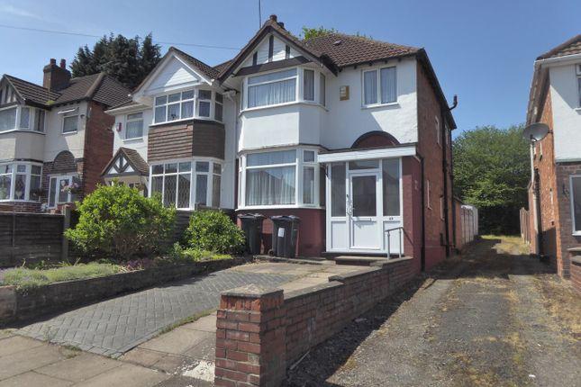 Semi-detached house for sale in Josiah Road, Northfield, Birmingham