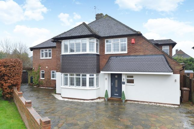 Thumbnail Detached house to rent in Marlyns Close, Burpham, Guildford