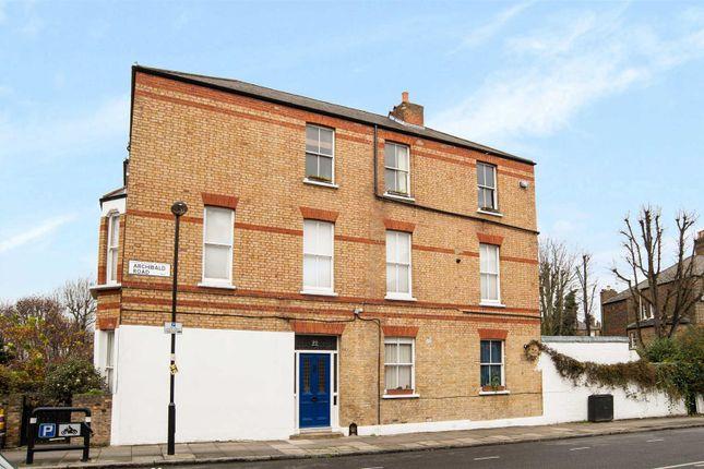 Thumbnail Flat to rent in Huddleston Road, Tufnell Park