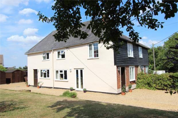 Thumbnail Semi-detached house for sale in Sheepcote Green, Clavering, Saffron Walden, Essex