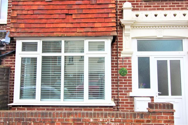 Thumbnail End terrace house to rent in Hayling Avenue, Portsmouth