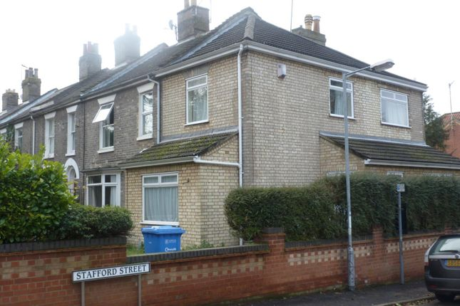 Thumbnail Semi-detached house to rent in Stafford Street, Norwich