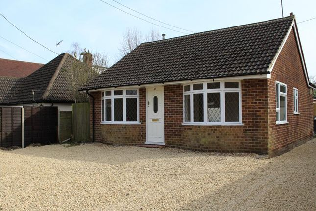 Thumbnail Bungalow to rent in Station Road East, Ash Vale