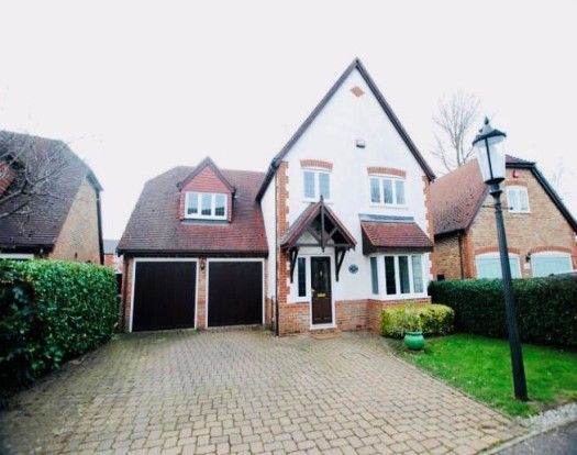Thumbnail Detached house to rent in Phoebes Orchard, Stoke Hammond, Milton Keynes