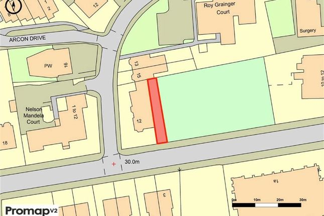 Thumbnail Land for sale in Range Road, Whalley Range, Manchester