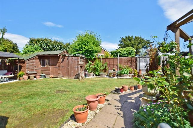 Rear Garden of Faversham Road, Kennington, Ashford, Kent TN24