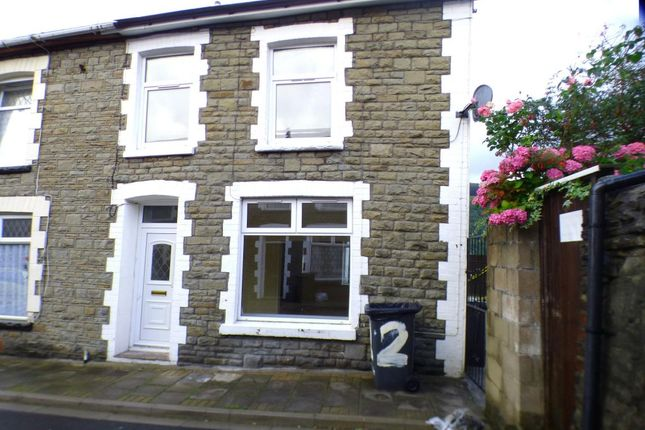 Thumbnail End terrace house to rent in Consort Street, Mountain Ash