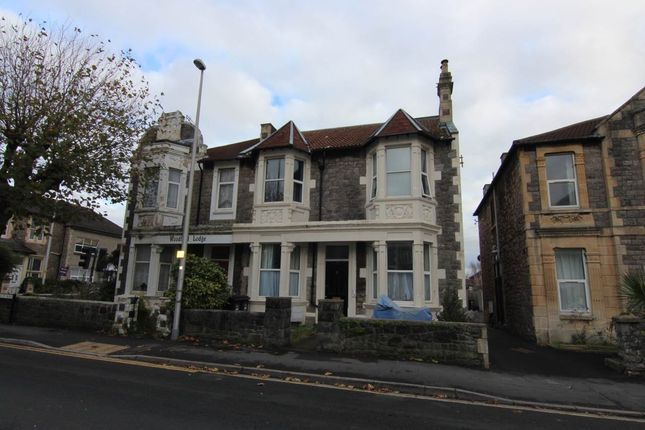 Thumbnail Flat to rent in Walliscote Rd, Weston-Super-Mare, North Somerset