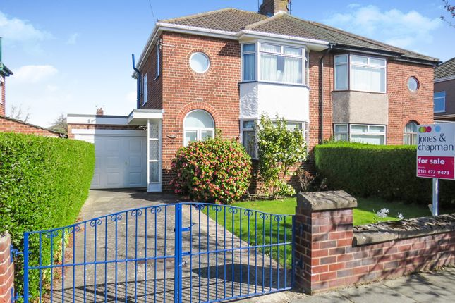 Thumbnail Semi-detached house for sale in Dodd Avenue, Greasby, Wirral