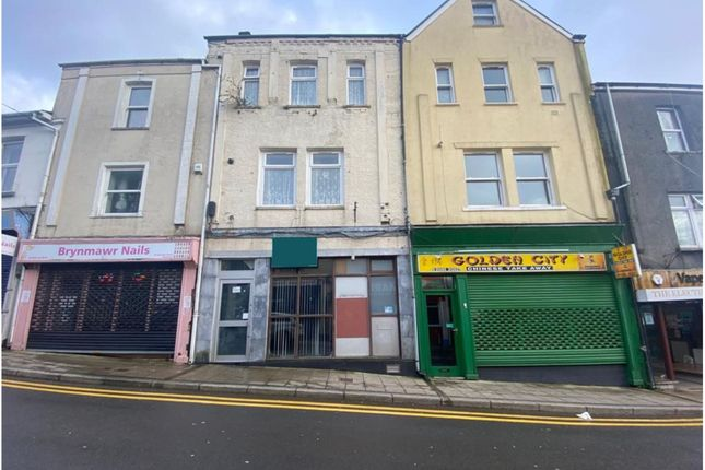 Thumbnail Retail premises for sale in Beaufort Street, Brynmawr