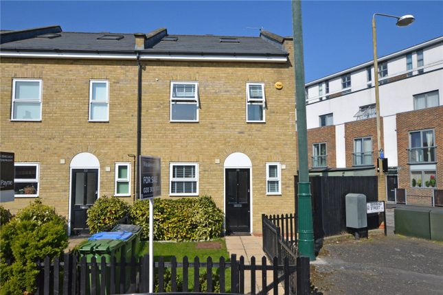 Thumbnail End terrace house for sale in Banning Street, Greenwich, London