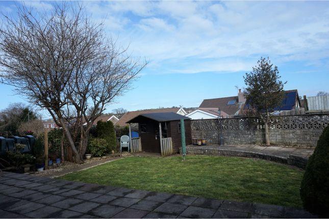 Rear Garden of Heol Tir Coch, Efail Isaf, Pontypridd CF38