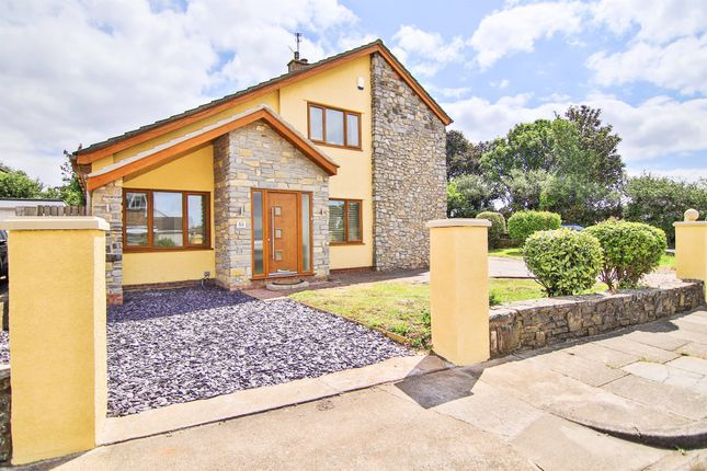 4 bed detached house for sale in Winsford Road, Sully, Penarth