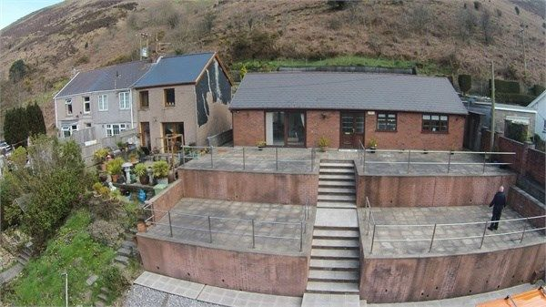 Thumbnail Detached bungalow for sale in Lletty Harri, Port Talbot