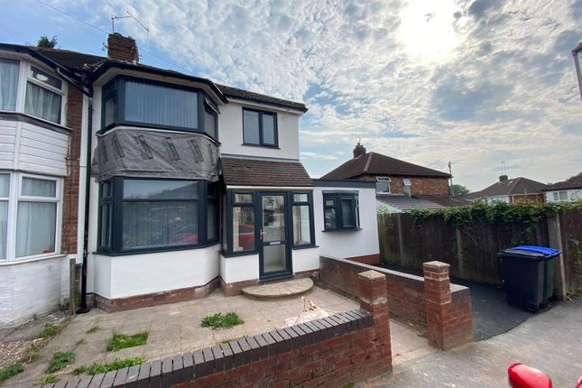 Thumbnail Semi-detached house to rent in Howard Road, Birmingham