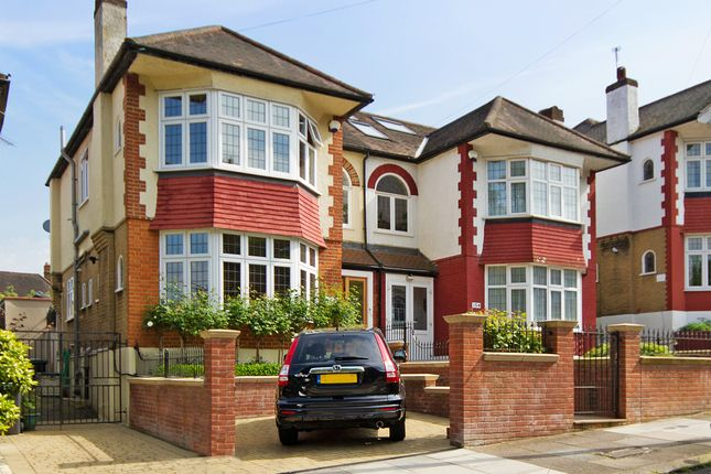 Thumbnail Semi-detached house for sale in Woodfield Way, Bounds Green