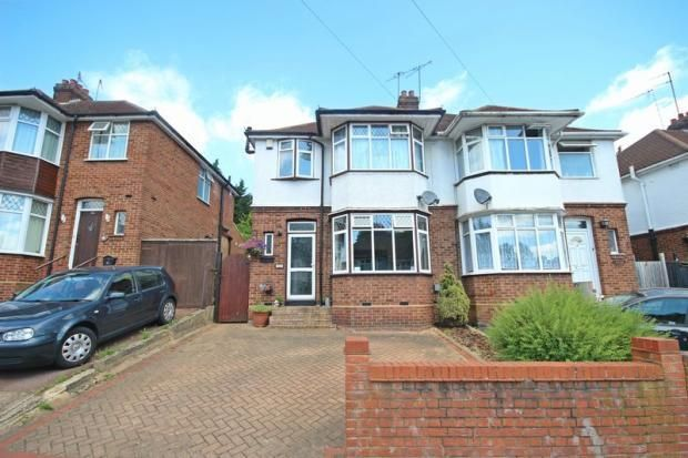Thumbnail Semi-detached house for sale in Meyrick Avenue, Luton, Bedfordshire