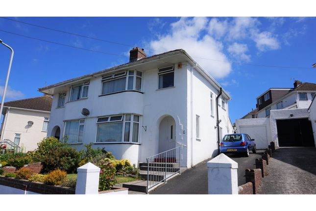 Thumbnail Semi-detached house for sale in Lynwood Avenue, Plymouth