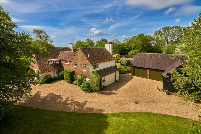 Thumbnail Detached house for sale in Dippenhall, Farnham, Surrey
