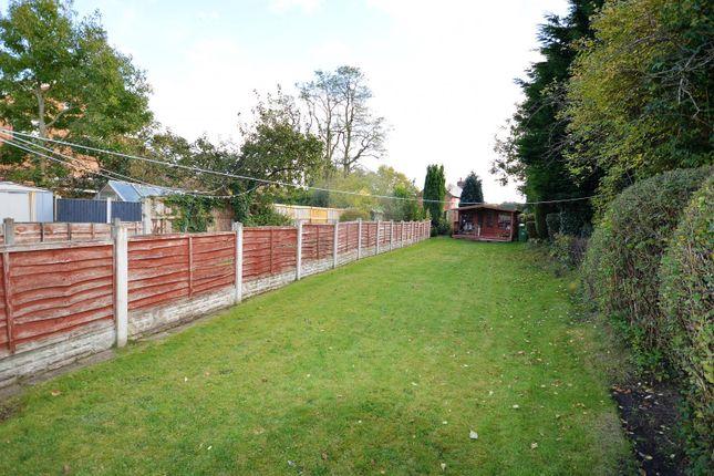 Rear Garden of Rushgreen Road, Lymm WA13