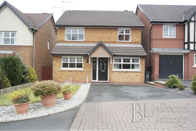 Thumbnail Detached house to rent in Princetown Close, Meir Park