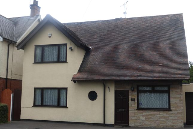 Thumbnail Detached house to rent in Leicester Road, Glen Parva, Leicester