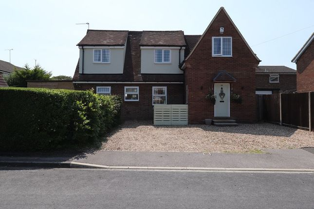 Thumbnail Detached house for sale in Lockhart Close, Dunstable