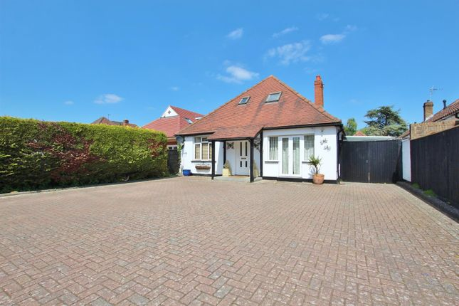 Thumbnail Detached bungalow for sale in New Road, Northbourne, Bournemouth