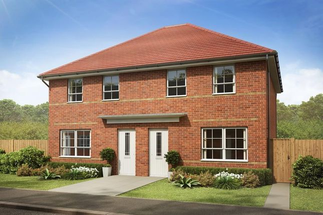 """Thumbnail End terrace house for sale in """"Maidstone"""" at Bankwood Crescent, New Rossington, Doncaster"""