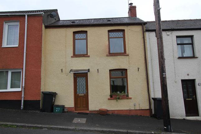 Thumbnail Terraced house for sale in Bethesda Place, Rogerstone, Newport