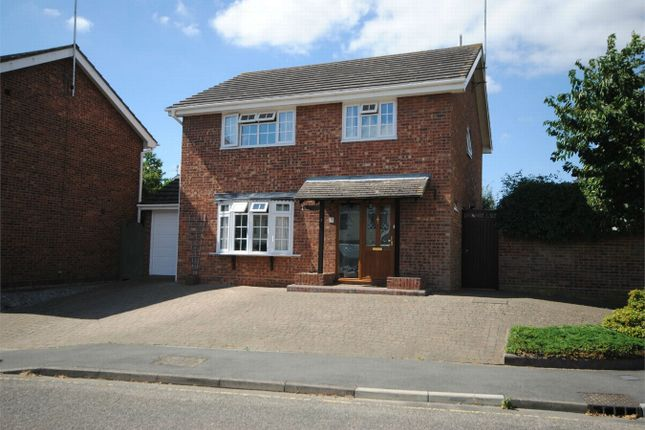 Thumbnail Detached house for sale in Gernon Close, Broomfield, Chelmsford, Essex