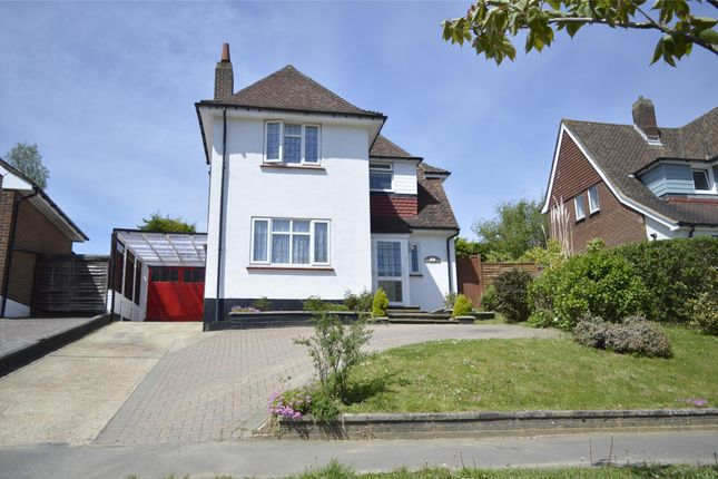 Thumbnail Detached house for sale in Ironlatch Avenue, St Leonards-On-Sea, East Sussex