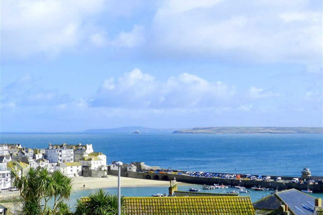 Thumbnail End terrace house for sale in Barnoon Hill, St. Ives