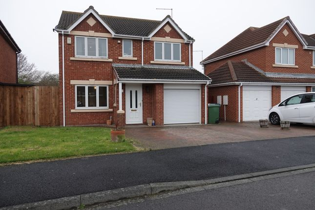 Thumbnail Detached house for sale in Shipham Close, Redcar